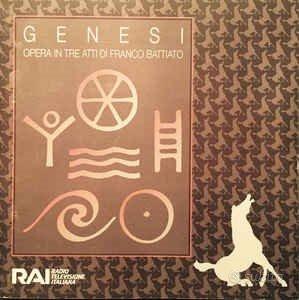 Franco Battiato - CD Genesi promo per la RAI