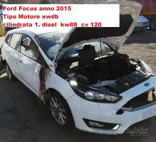 Ricambi ford focus 2015