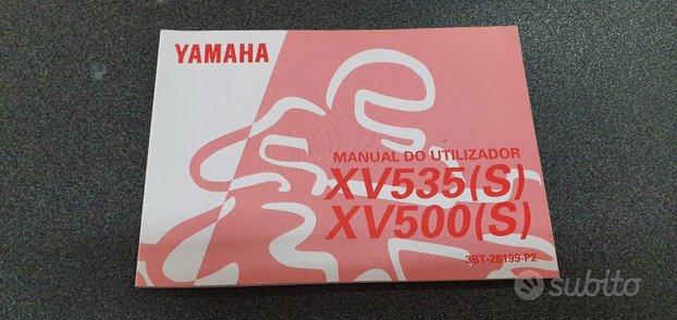 Uso e manutenzione manuale yamaha virago 535 500