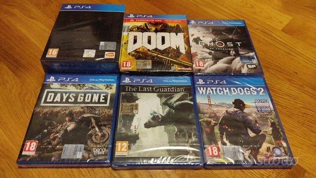 Giochi PS4 Nuovi Sigillati