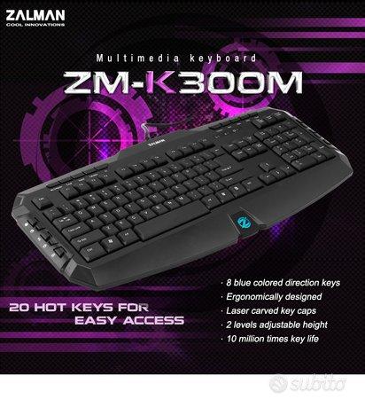 Tastiera Zalman ZM-K300M - CZECH layout
