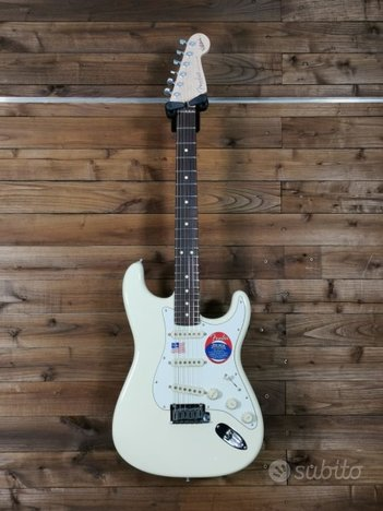 Stratocaster Jeff Beck signature Olympic White