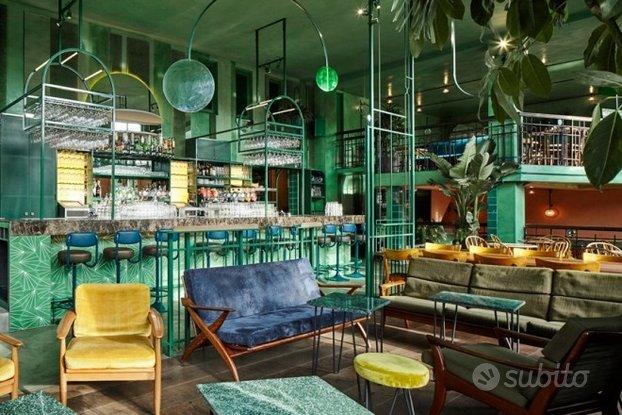 Quartiere Africano, Caffetteria/LoungeBar