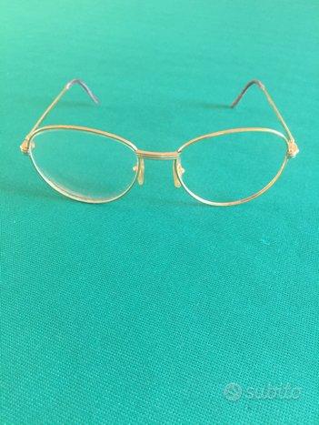 Cartier occhiali con brillante
