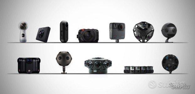Fotocamere e Videocamere a 360 gradi tanti modelli