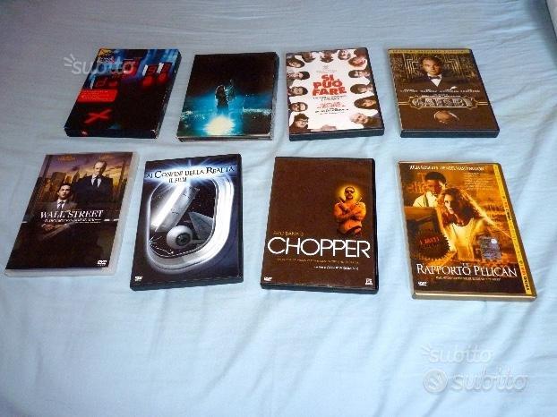 DVD di film e concerti