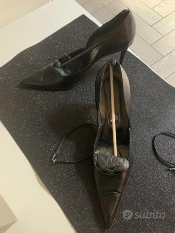 Scarpe pelle donna tacco 10 mis. 44