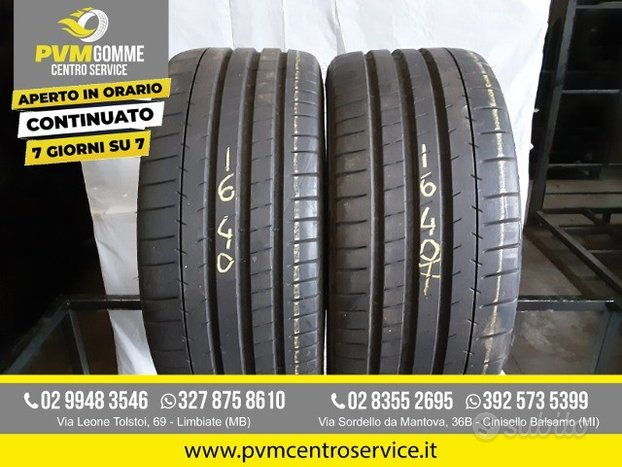 Gomme usate: 255 35 19 96y michelin