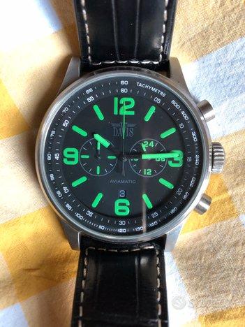 Orologio cronografo Davis
