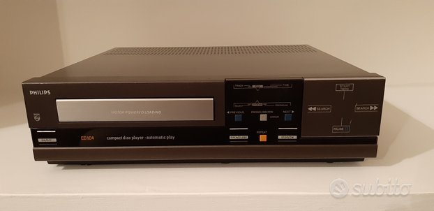 Lettore cd Player Philips CD104