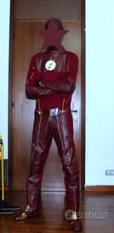 Cosplay costume CW The Flash 2^ e 3^ Stagione