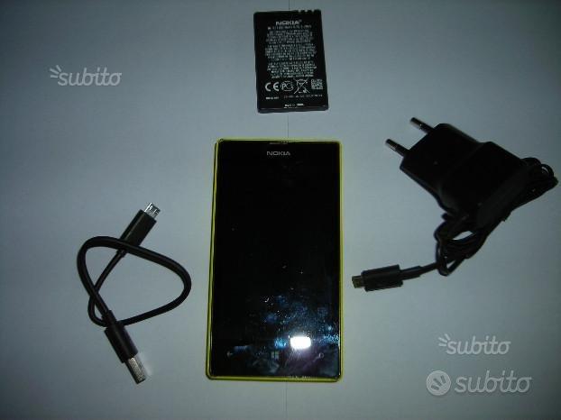 Nokia lumia 520 giallo
