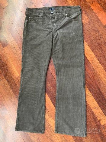 Pantaloni velluto Armani jeans originali