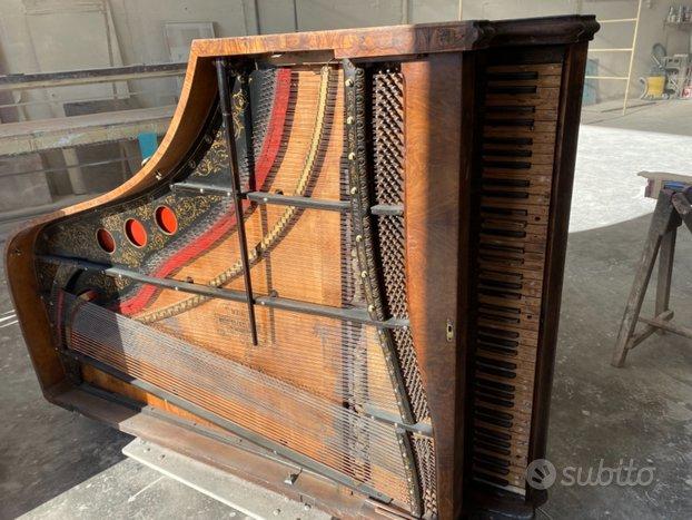 Pianoforte mezzacoda anno 1878