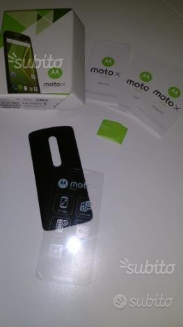 Cover originale Motorola Moto X Play