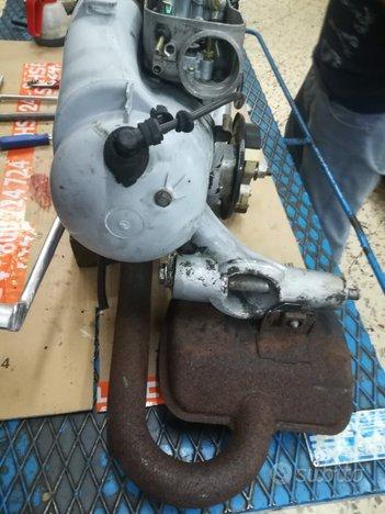 Motore lml 150 due tempi con pacco lamellare