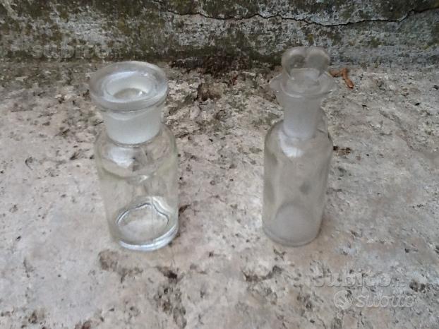 Boccette in vetro per farmacia