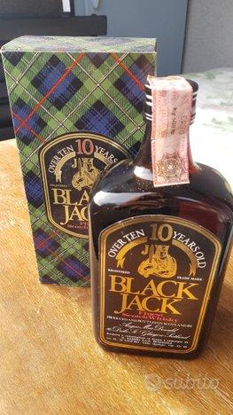 Bottiglia Black Jack Finest Scotch Whisky 10 Years