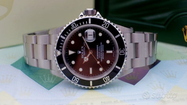 ROLEX Submariner Data 16610 full no fori anno 2007