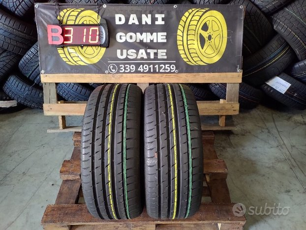 2 Gomme Usate 245 50 18 Estive 95% CONTINENTAL