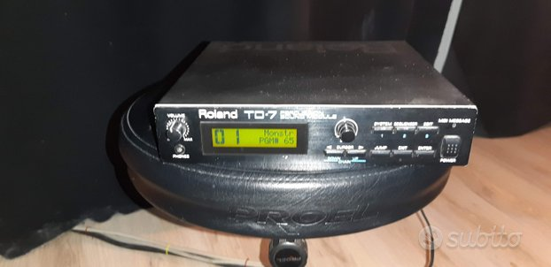 Roland TD7 modulo