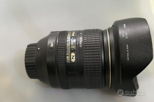 Nikon af-s 24-120 4,0g ed n usato