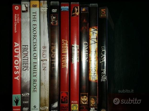 10 dvd film horror