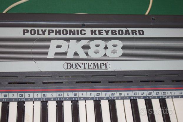 Pianola Bontempi Polifonica PK88