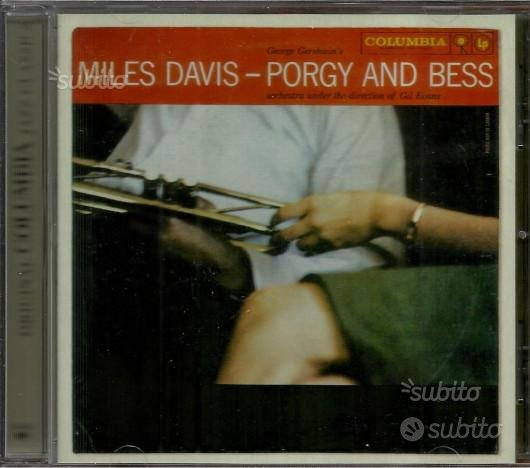 CD ORIGINALE JAZZ: Miles Davis ?- Porgy And Bess