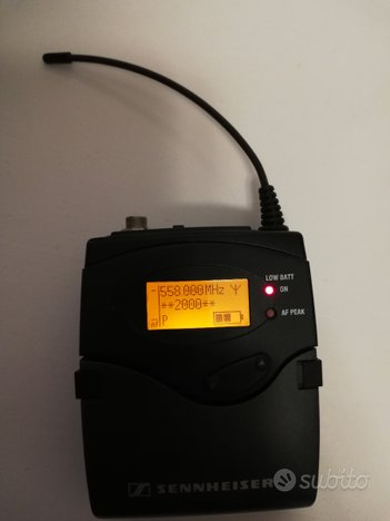 Trasmettitore Sennheiser SK2000 558-626 Mhz