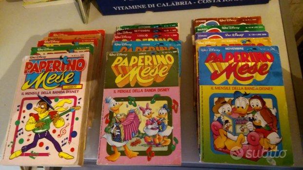 Fumetti Topolino, Paperino e libri Disney