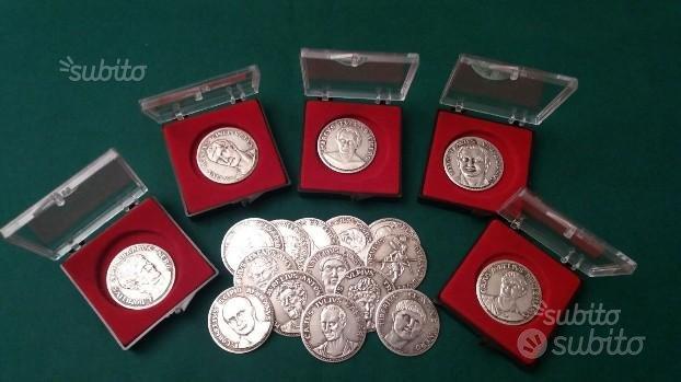 Monete in peltro e argento