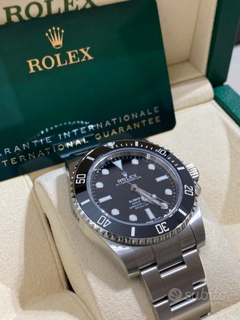Rolex submariner no data 114060