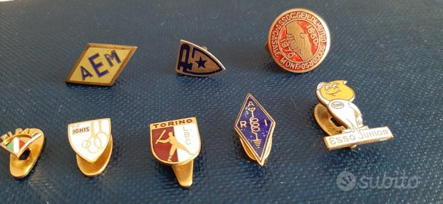 Pins spille vintage sportive e aziendali