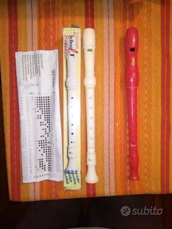 Flauti dolci Bontempi e Carrara