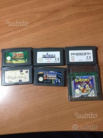 Giochi per Game Boy Advance e SP