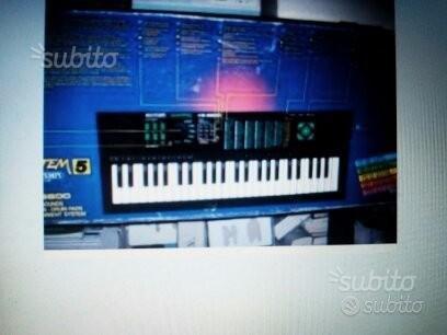Pianola professionale bontempi ks5600
