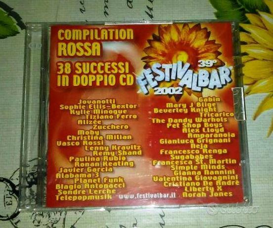 Festivalbar 2002 (2 CD) Compilation Rossa
