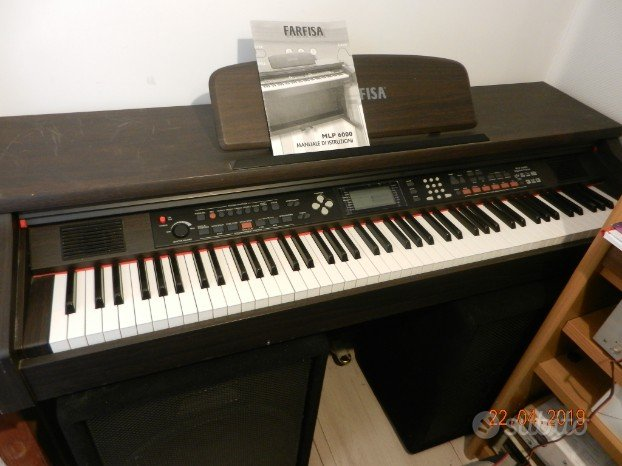 Piano digitale Farfisa MLP6000