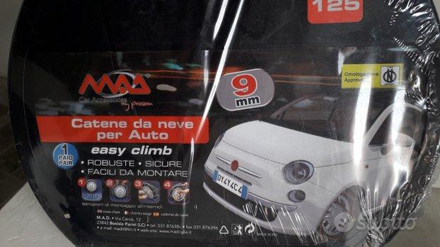 Catene da Neve X Auto 9 mm. Gruppo 125 Easy Climb