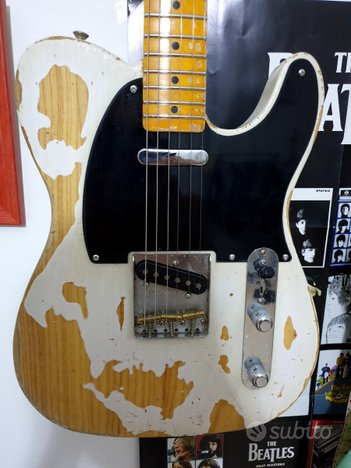 Fender Telecaster Lacquer Nitro Relic Josefina