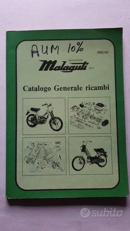 Malaguti Catalogo Ricambi Fifty 50 + modelli 82-83