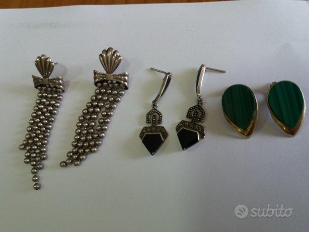 Orecchini vintage argento