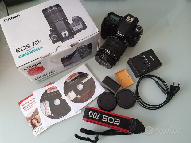 Canon EOS 70D (W) + EF-S 18-135 IS STM