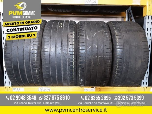 Gomme usate: 295 40 20 109y michelin estive