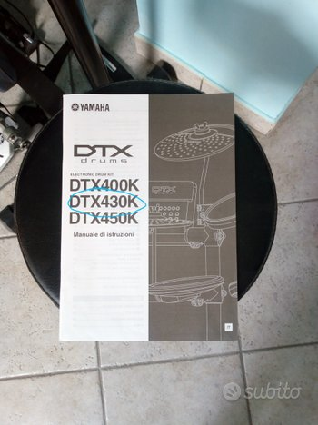 Batteria elettronica Yamaha DTX 430 K