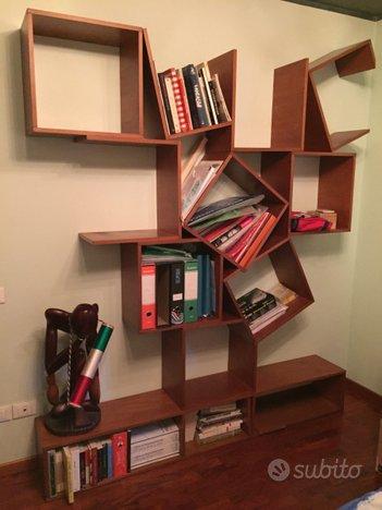 Arredo per camera da letto con libreria