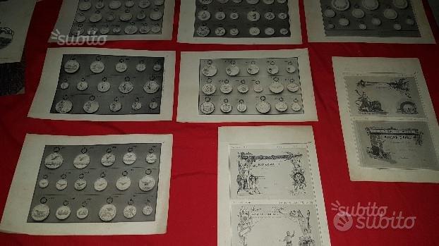 Stampe epoca ditta Stefano Johnson - medaglie