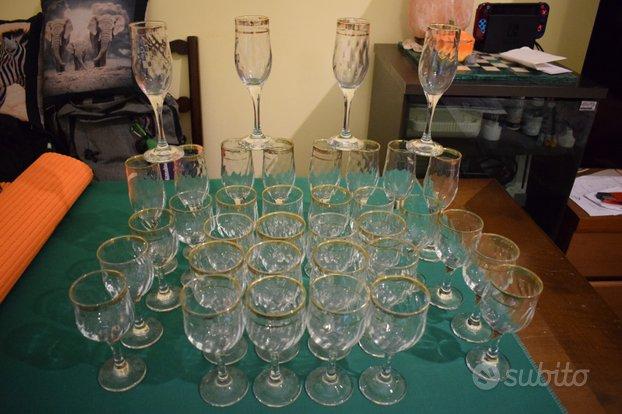 Mega lotto 36 bicchieri vintage anni 60'