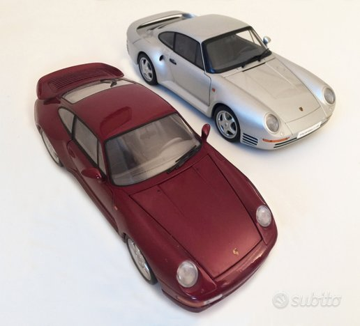 LOTTO 2 1:18 AUTOART Porsche 959 UT Porsche 911